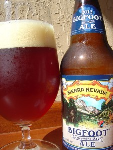 Sierra Nevada Bigfoot Barleywine Style Ale 2012