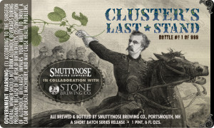 Clusters Last Stand Ale Label