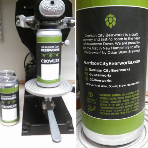 crowler-label-beer-machine